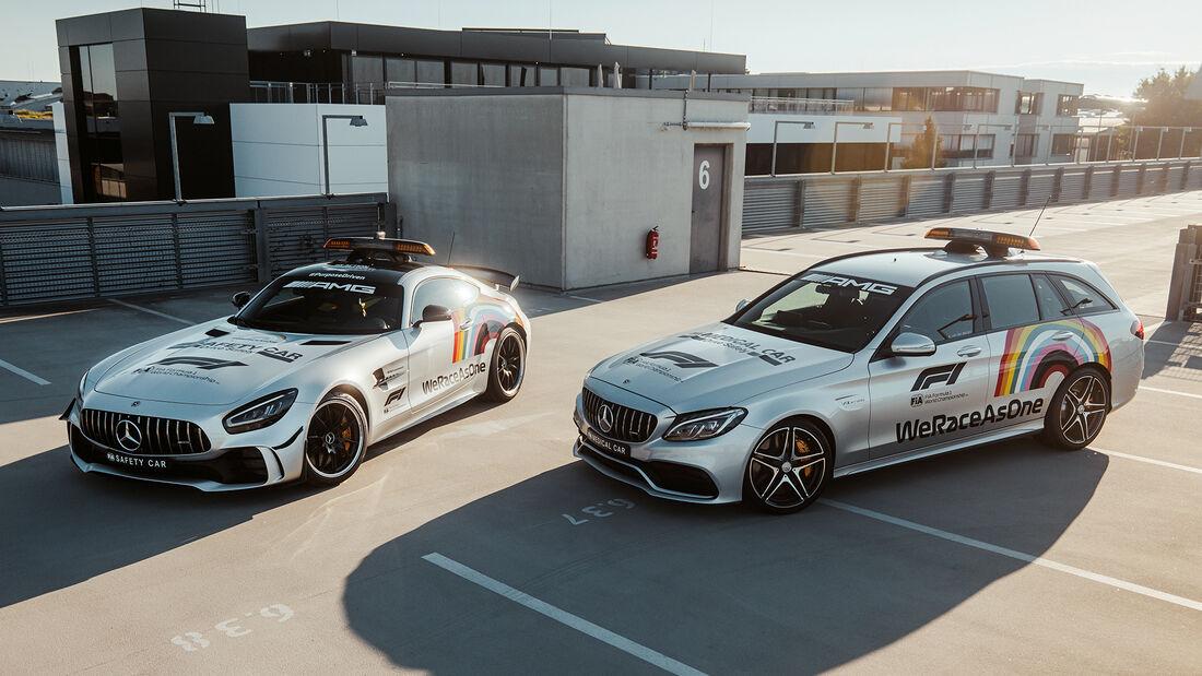 Mercedes - F1 Safety-Car / F1 Medical-Car - 2020