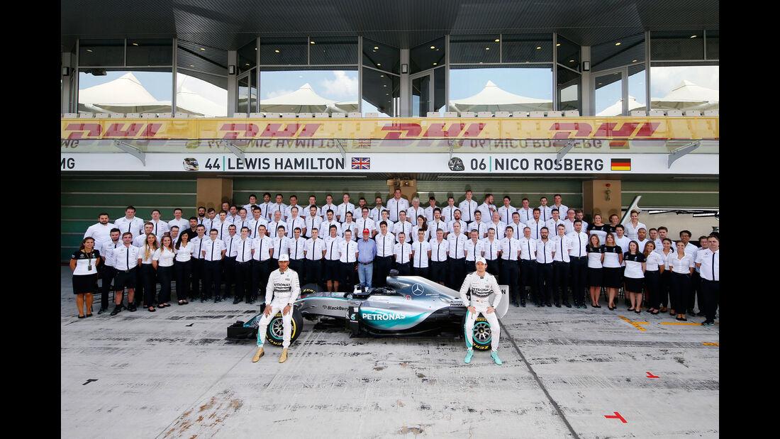Mercedes F1 - Teampräsentation