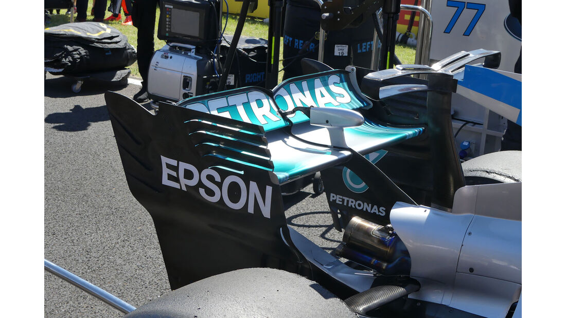 Mercedes - F1-Technik - GP Ungarn 2017 - Formel 1