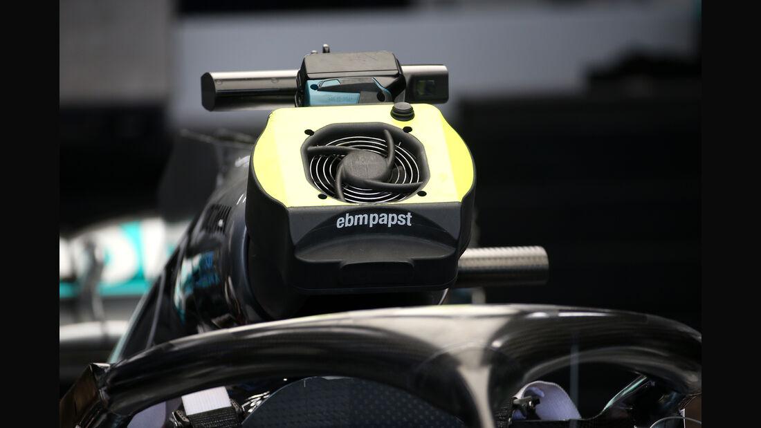 Mercedes - F1-Technik - Lüfter - GP Singapur 2018