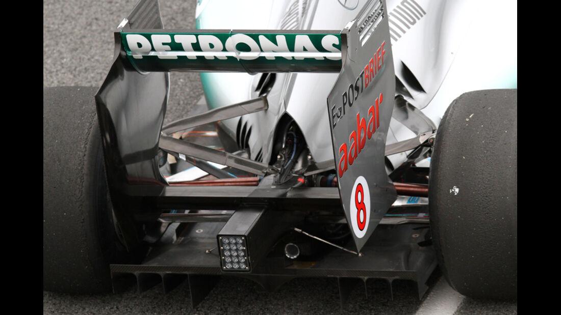 Mercedes F1 Test 2011