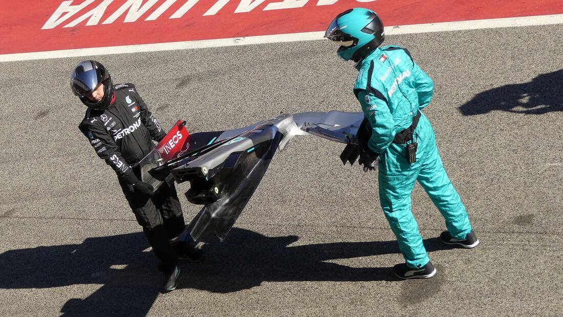 Mercedes - F1-Test - Barcelona - 20. Februar 2020