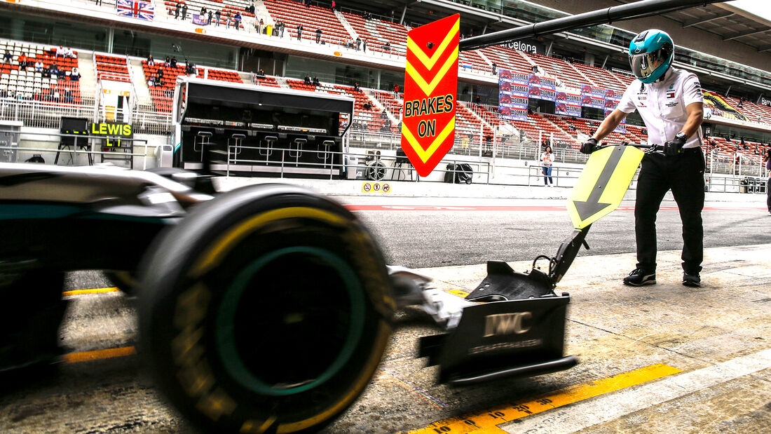 Mercedes - F1-Test Barcelona 2020