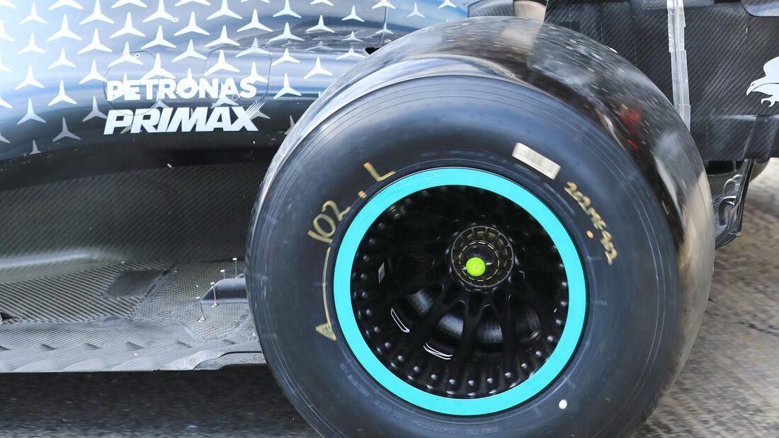 Mercedes - F1-Test - Barcelona - 2020