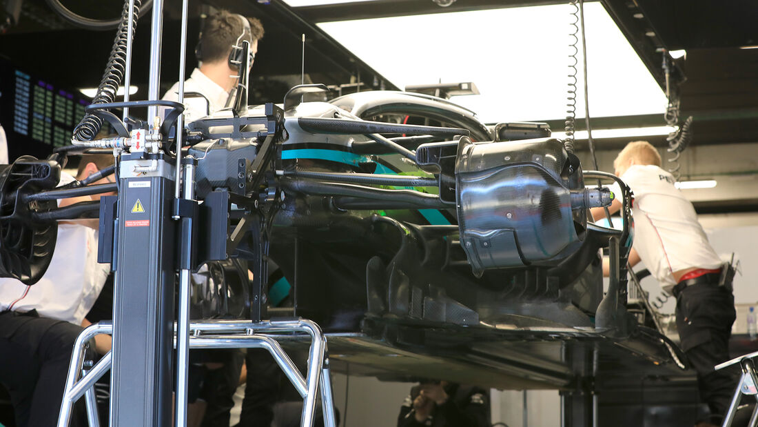 Mercedes - F1-Test - Barcelona - 21. Februar 2020