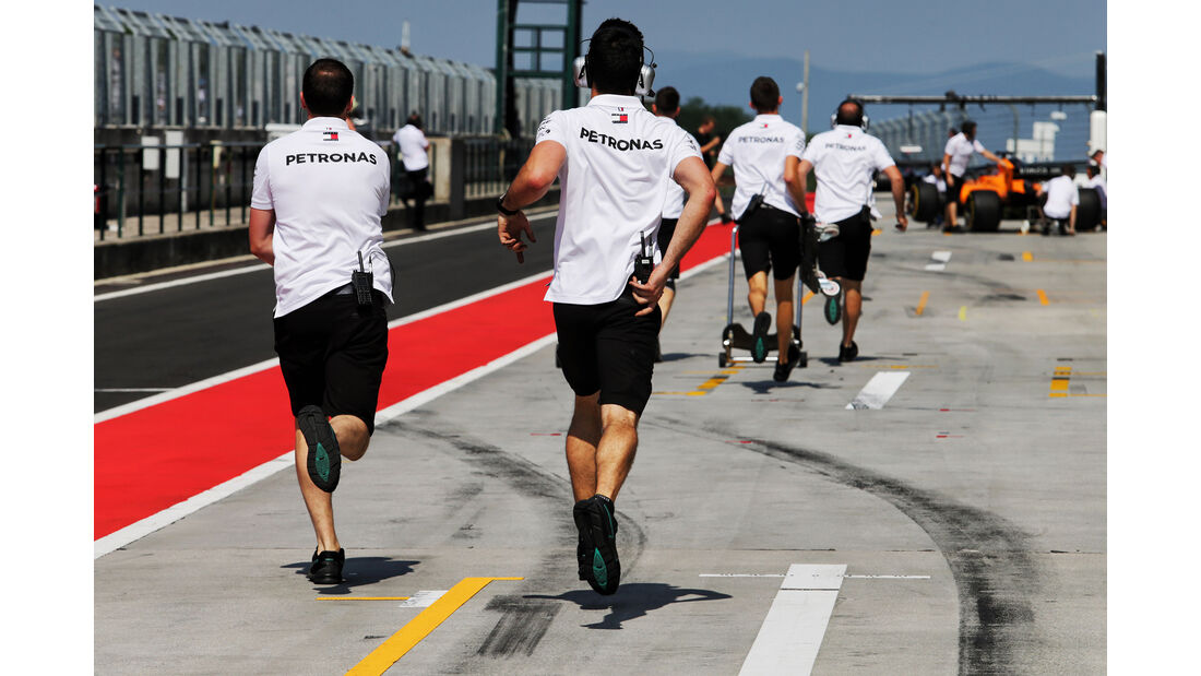 Mercedes - F1-Test - Budapest - 1. August 2018