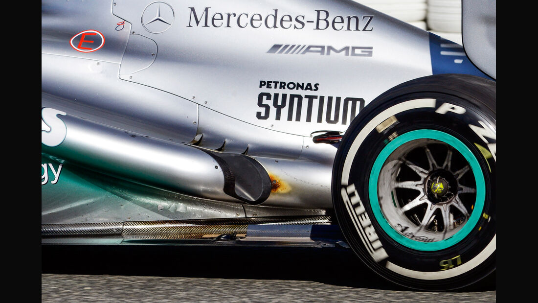 Mercedes F1 Test Jerez 2013 Highlights