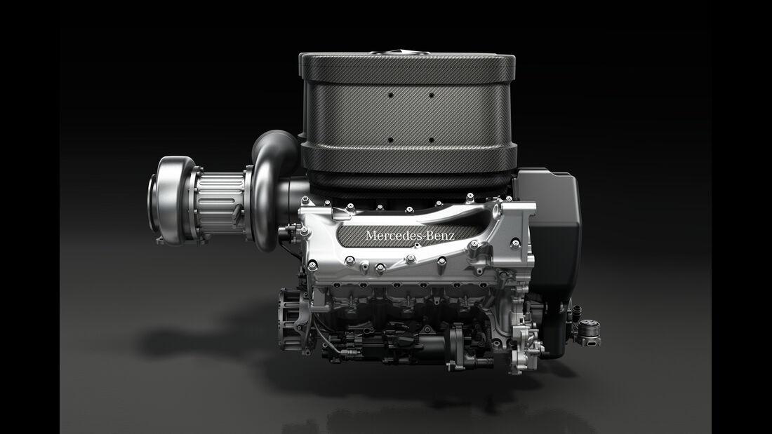 Mercedes F1 V6 2014 Motor