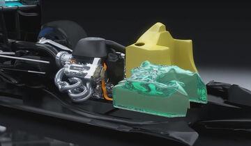 Mercedes - F1 V6 Motor 2014