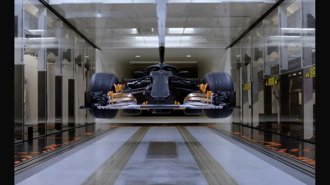 Mercedes F1 Windkanal