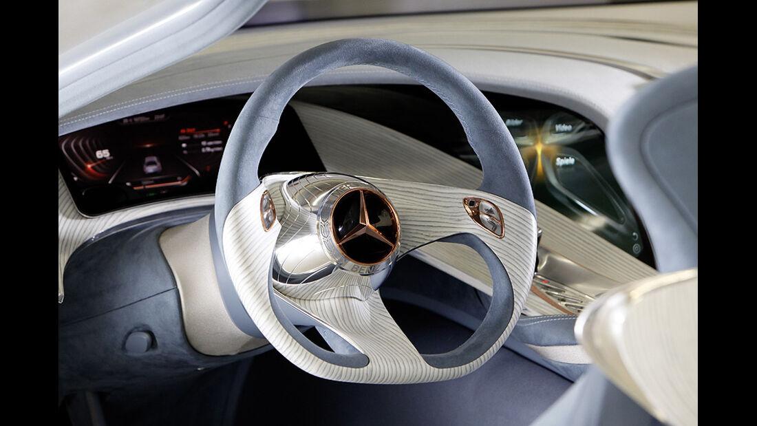 Mercedes F125 Forschungsfahrzeug, Lenkrad