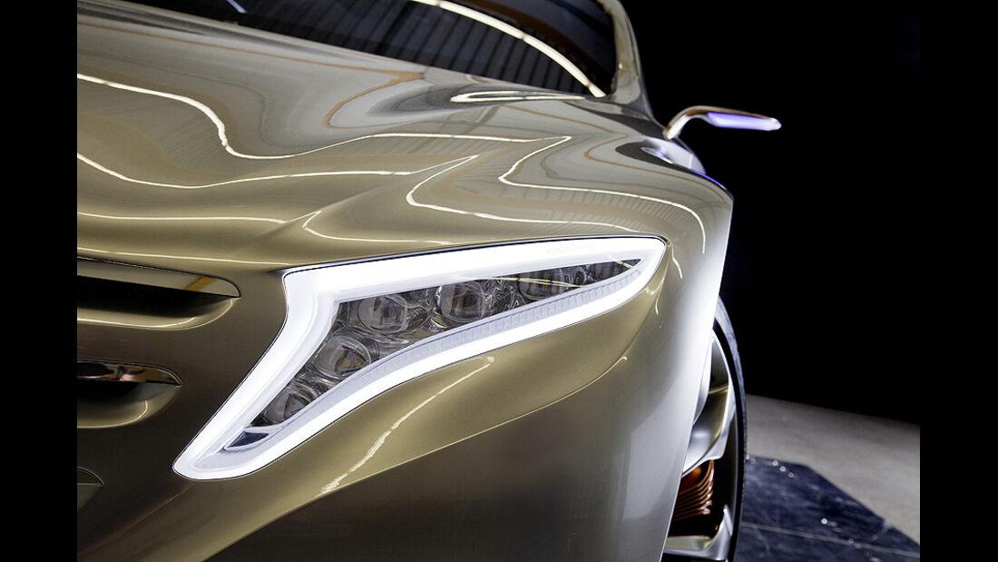 Mercedes F125 Forschungsfahrzeug, Scheinwerfer