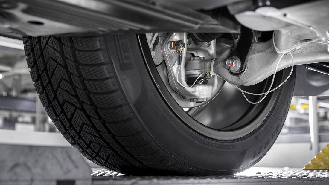 Mercedes Fahrverhaltensentwicklung, Sensor