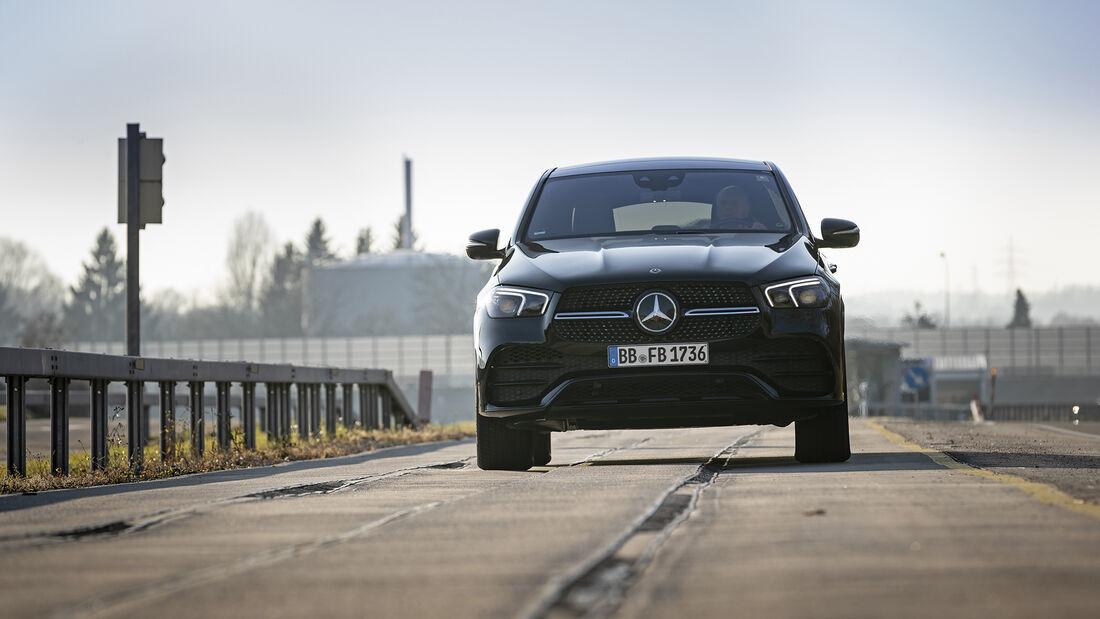 Mercedes Fahrverhaltensentwicklung, Teststrecke