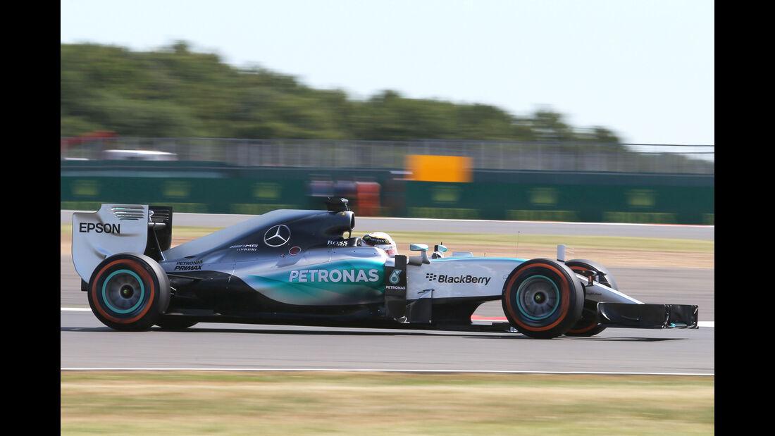 Mercedes - Fahrwerk - GP England 2015