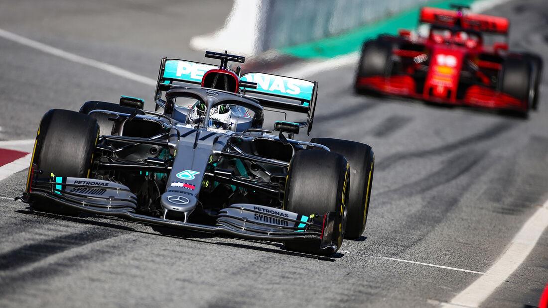 Mercedes & Ferrari - F1-Wintertests - Barcelona 2020