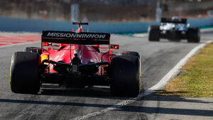 Mercedes & Ferrari - F1-Wintertests - Barcelona 2020