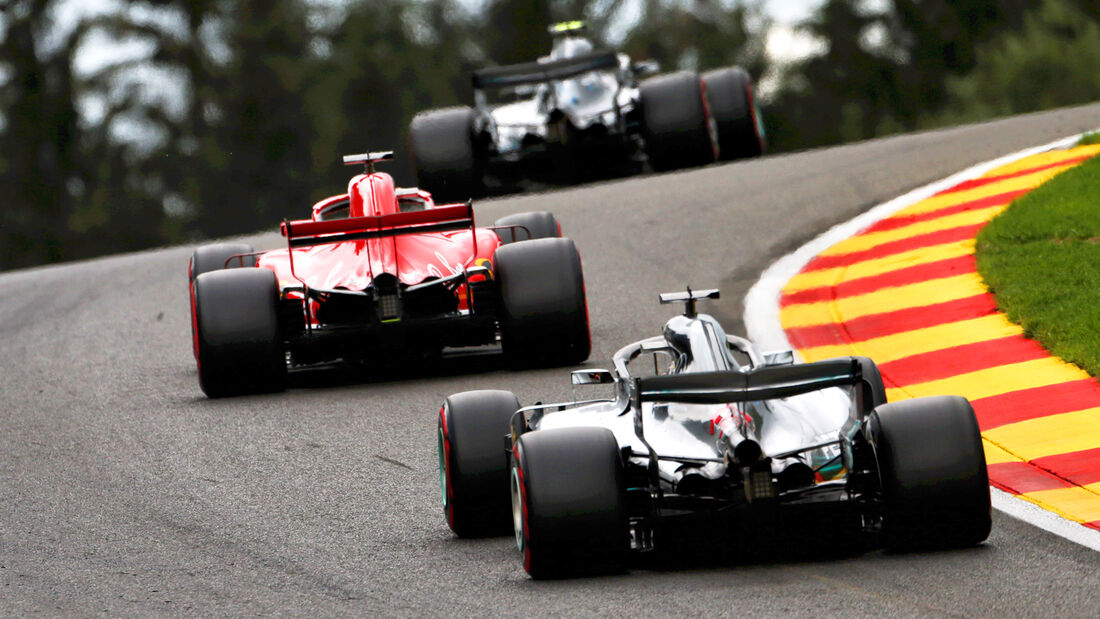 Mercedes & Ferrari - Formel 1 - GP Belgien - Spa-Francorchamps - 25. August 2018