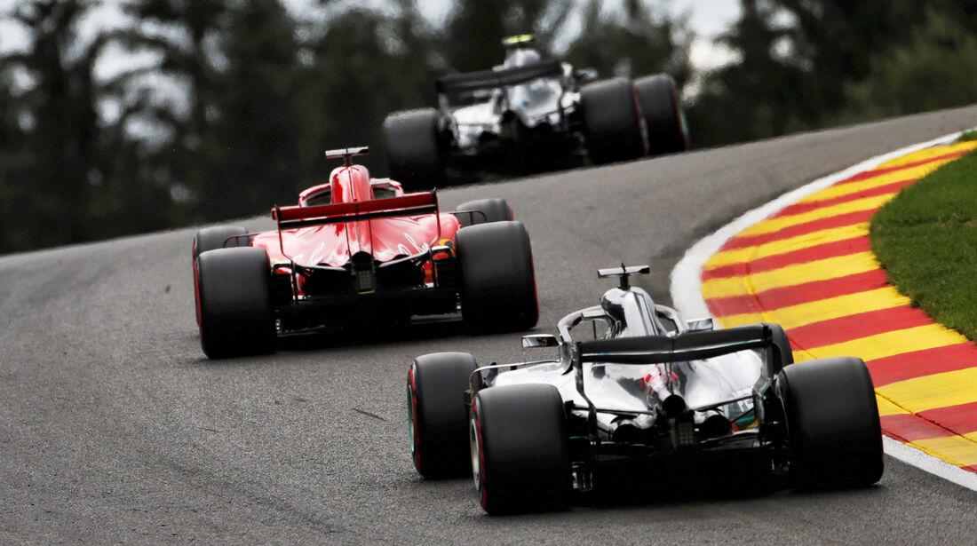 Mercedes & Ferrari - Formel 1 - GP Belgien - Spa-Francorchamps - 25. August 2018