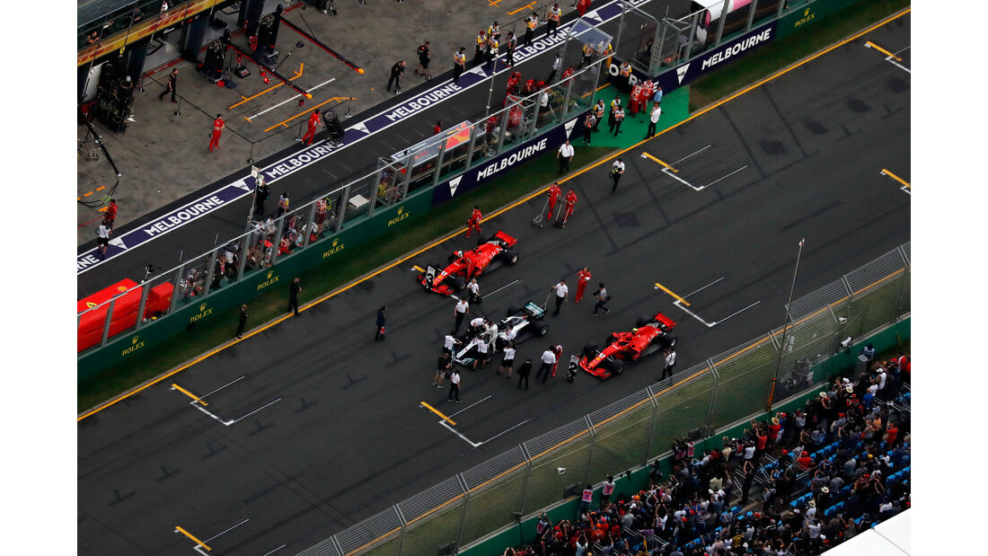Mercedes - Ferrari - Qualifying - GP Australien 2018 - Melbourne