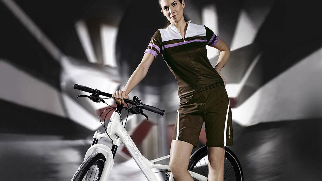 Mercedes Fitnessbike
