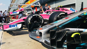 Mercedes & Force India - GP Italien 2018