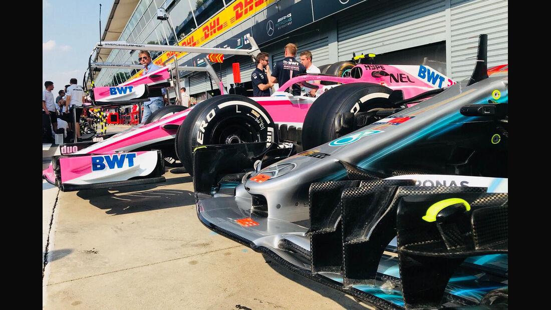 Mercedes & Force India - GP Italien 2018