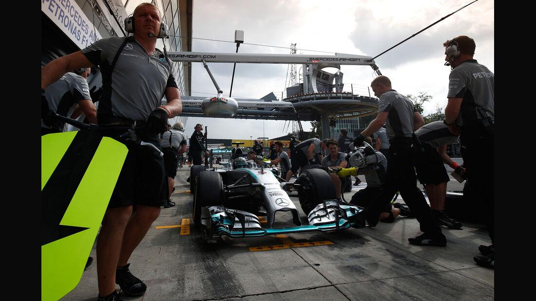 Mercedes - Formcheck - GP Italien 2014