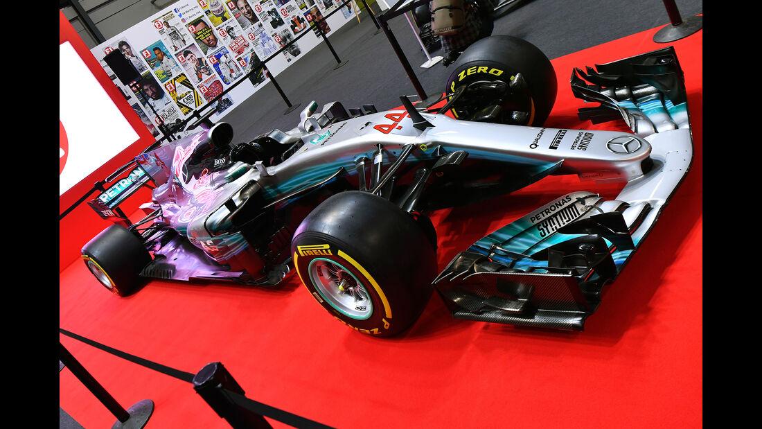 Mercedes - Formel 1 -Autosport International - Birmingham - 2018