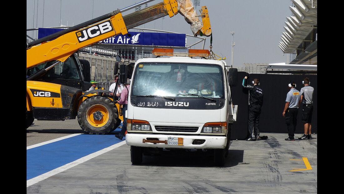 Mercedes - Formel 1 - Bahrain - Test - 20. Februar 2014