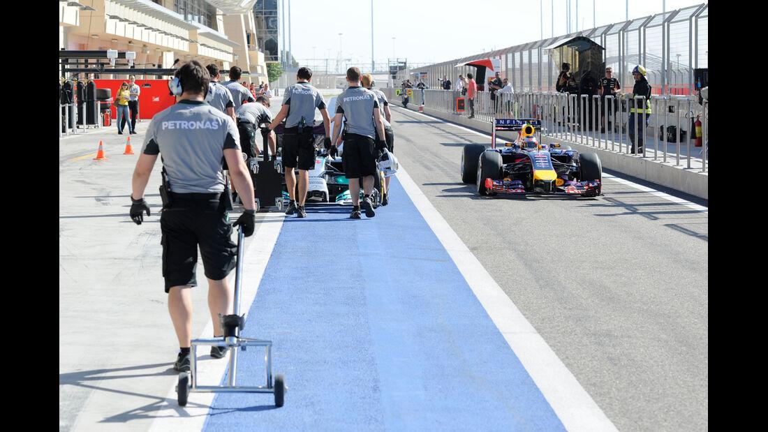 Mercedes - Formel 1 - Bahrain-Test 2014