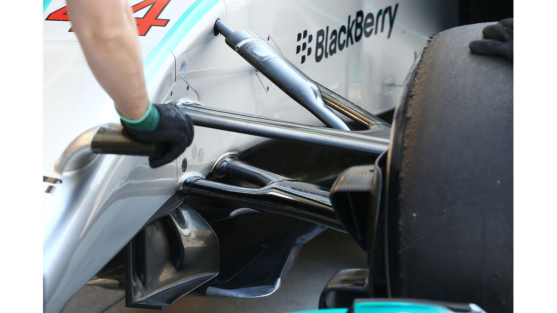 Mercedes - Formel 1 - Bahrain - Test - 21. Februar 2014