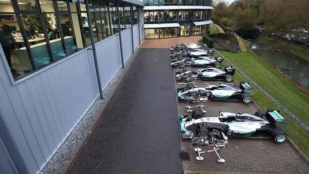 Mercedes - Formel 1 - Brackley
