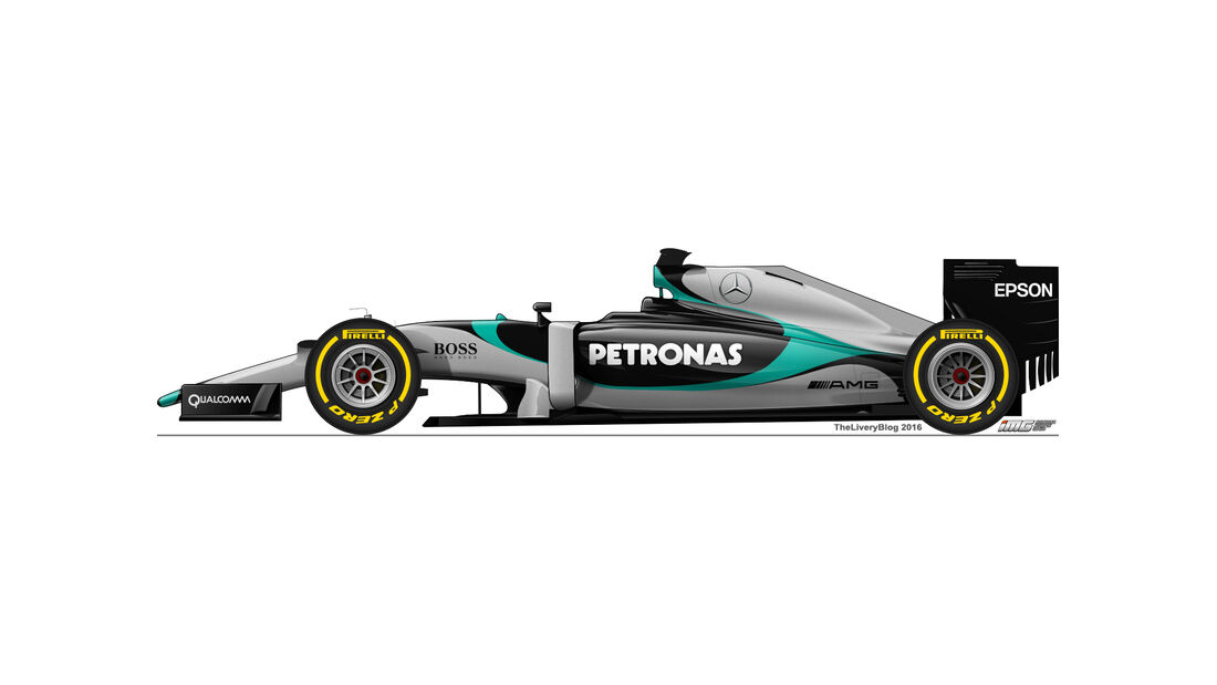 Mercedes - Formel 1 Design Concepts 2016