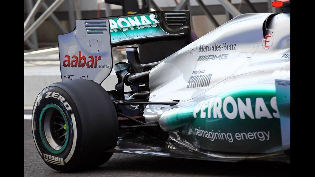Mercedes - Formel 1 - GP Abu Dhabi - 01. November 2012