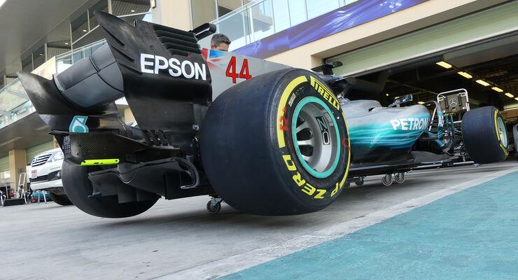 Mercedes - Formel 1 - GP Abu Dhabi - 23. November 2017