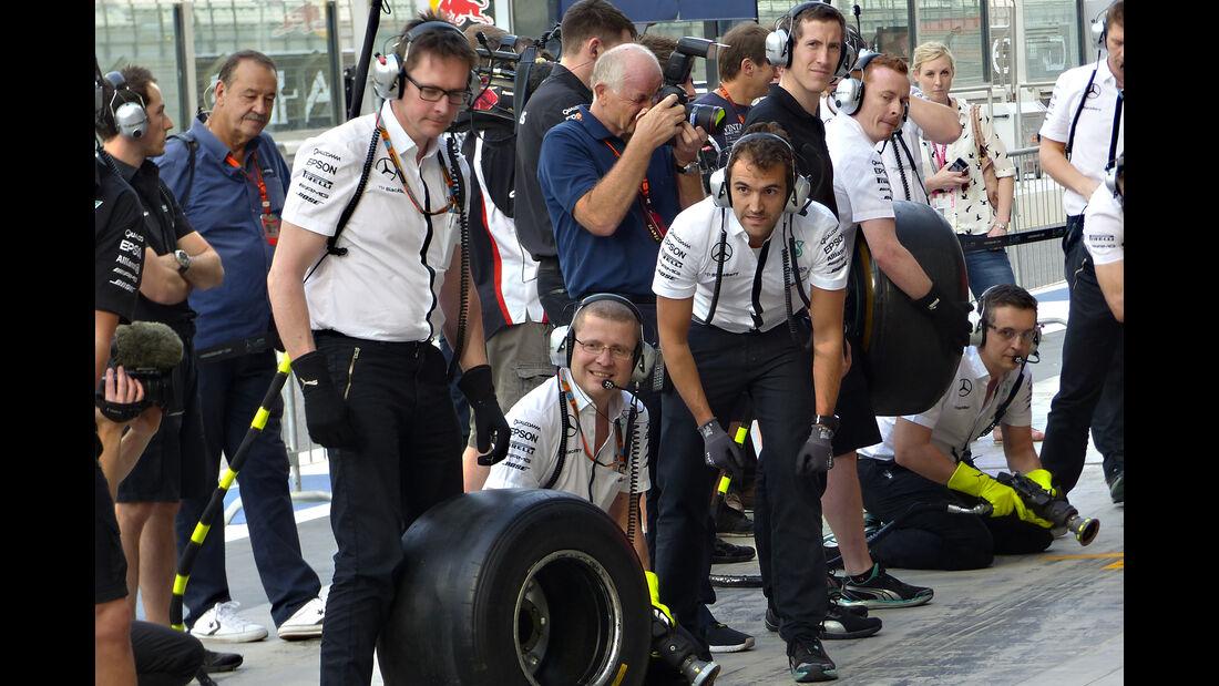 Mercedes - Formel 1 - GP Abu Dhabi - 26. November 2015