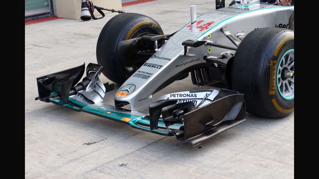 Mercedes - Formel 1 - GP Abu Dhabi - 26. November 2015