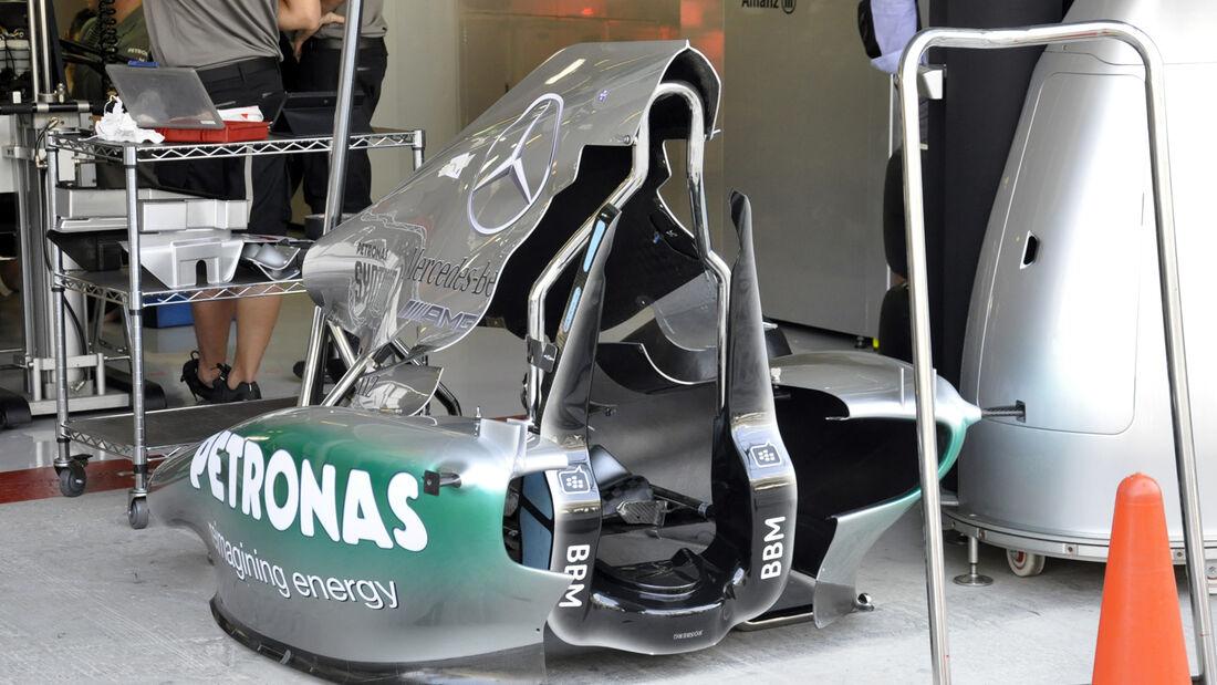 Mercedes  - Formel 1 - GP Abu Dhabi - 31. Oktober 2013