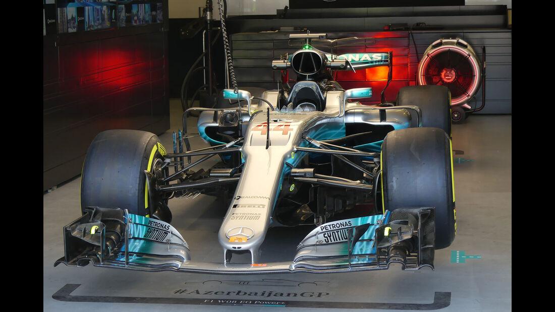 Mercedes - Formel 1 - GP Aseerbaidschan 2017 - Training - Freitag - 23.6.2017
