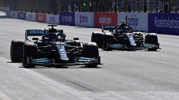 Mercedes - Formel 1 - GP Aserbaidschan 2021