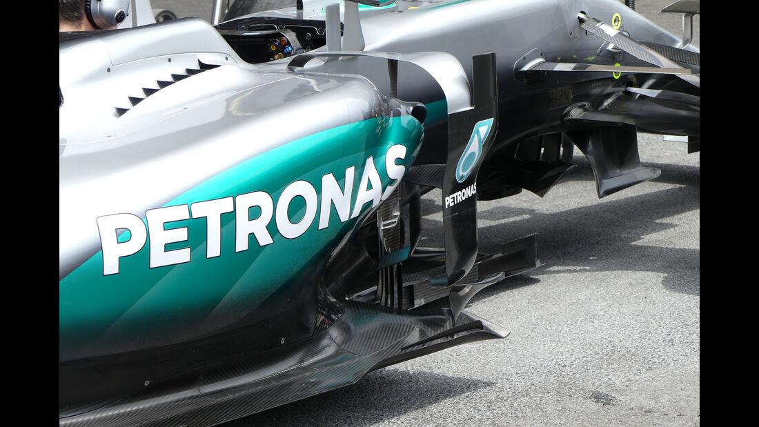 Mercedes - Formel 1 - GP Aserbaidschan - Baku - 17. Juni 2016