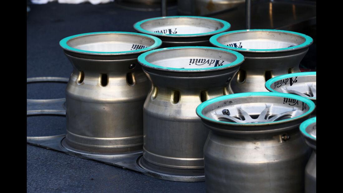 Mercedes - Formel 1 - GP Aserbaidschan - Baku - 18. Juni 2016