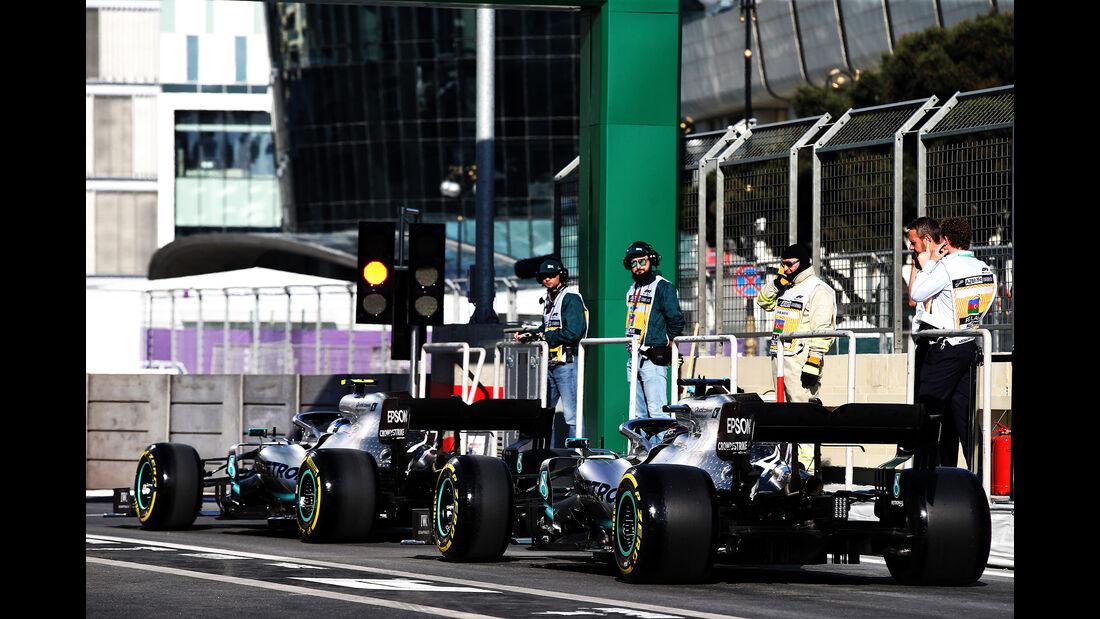 Mercedes - Formel 1 - GP Aserbaidschan - Baku - 26. April 2019