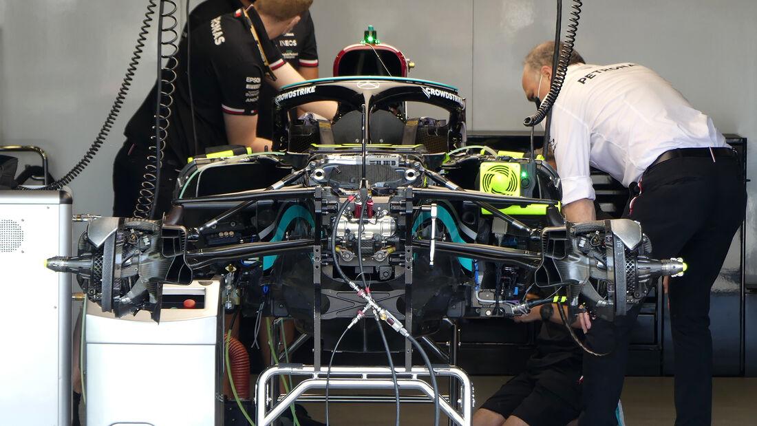 Mercedes - Formel 1 - GP Aserbaidschan - Baku - Donnerstag - 3.6.2021
