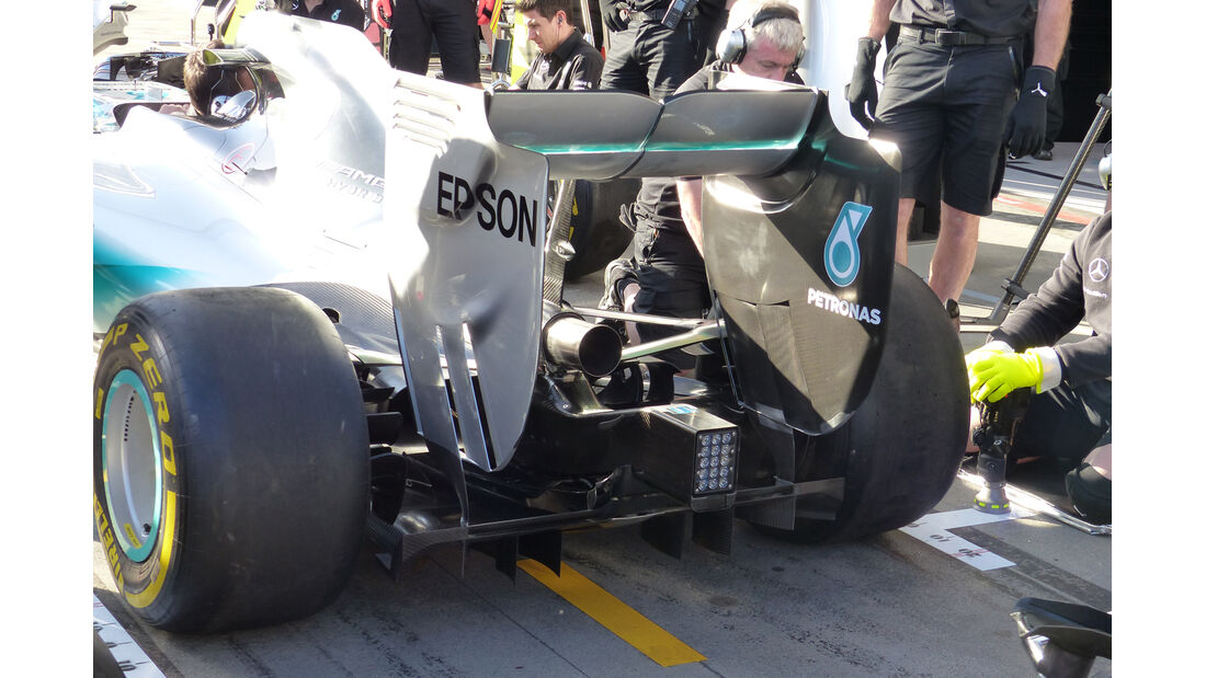 Mercedes - Formel 1 - GP Australien - 12. März 2015