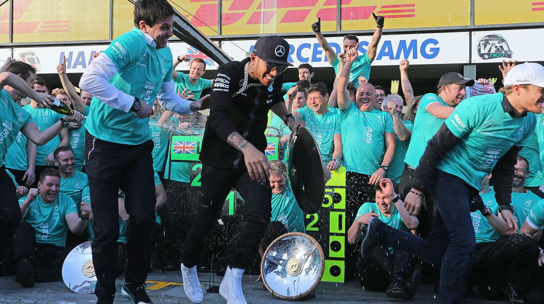 Mercedes - Formel 1 - GP Australien 2015