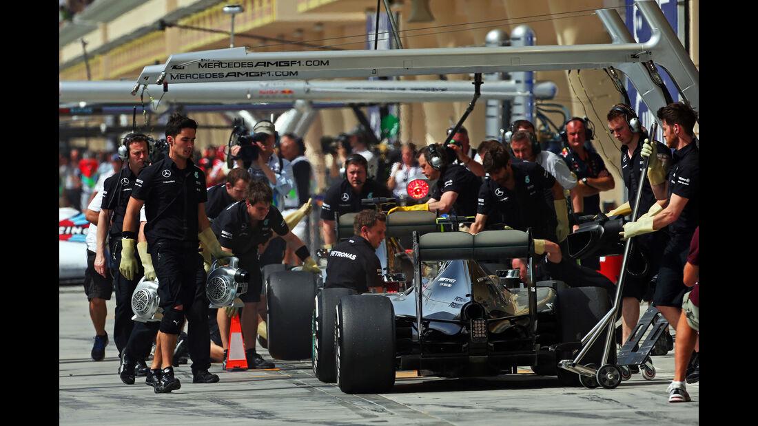 Mercedes - Formel 1 - GP Bahrain - 17. April 2015