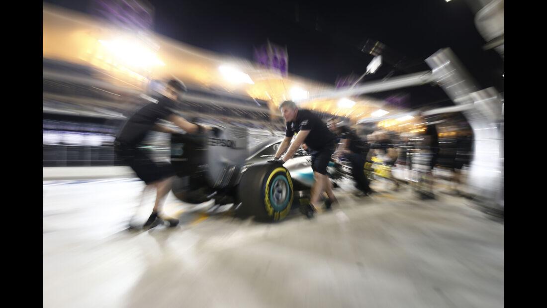 Mercedes - Formel 1 - GP Bahrain - 18. April 2015