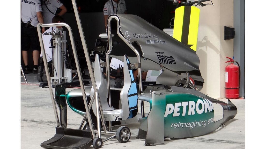 Mercedes - Formel 1 - GP Bahrain - 20. April 2012